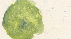 Watercolor technique: using salt: Lay down a swatch of watercolour and while the paint is still wet, sprinkle over salt. Let this sit until mostly dry and simply wipe or blow away the salt. This technique is useful for adding texture to natural surfaces like rocks or tree bark.