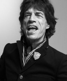 Mike Jagger by Max Vadukul