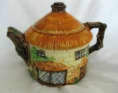 Vintage Beswick Ware Cottage Tea Pot