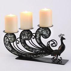 Awesome Candle Centerpiece Finds @ Kirklands...one is a Peacock.....others are for any theme. | Weddings, Style and Decor | Wedding Forums | WeddingWire
