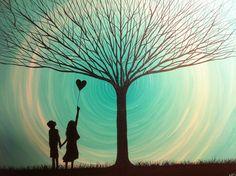 Beautiful Dreams 16 x 20 acrylic on canvas by MichaelHProsper