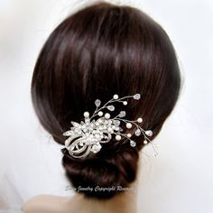 Wedding Hair Accessories Vintage Bridal Hair by adriajewelry, $60.00