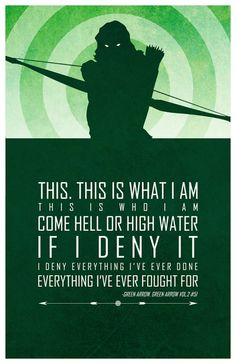 Cool Art: 'Heroic Words of Wisdom' by Adam Thompson #GreenArrow