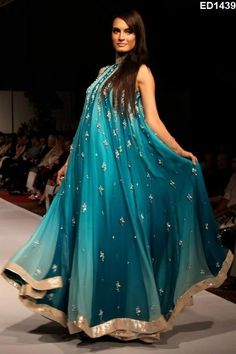 Pakistani Begum Evening Party Dress Glamorous Designer Anarkali Salwar Suit