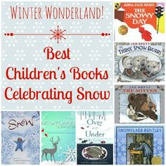 Let It Snow! Best Books about Snow for Kids