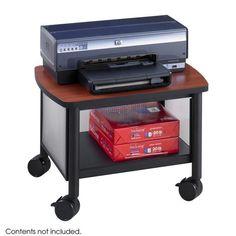Safco 1862BL Impromptu Under Table Printer Stand