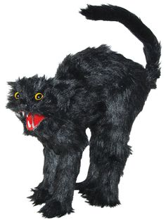 Scaredy Kitty Cat with Fangs - 349233
