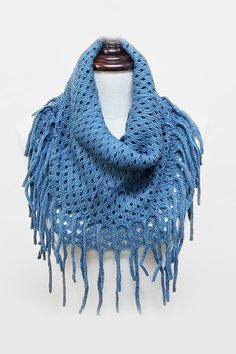 I think I want to get a fringe scarf.