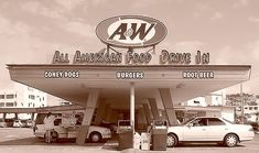 The drive in....  (The hours spent at the A & W drive in.)  :)