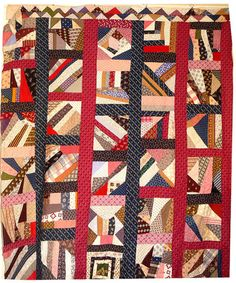 calico crazy - crumb quilt...mix it up...turns to a little bit of that...