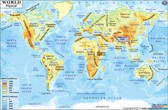 19 best MAP images on Pinterest in 2018   Earth Science, Mountain ...