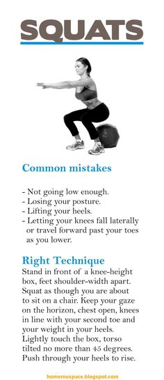 Workout Inspiration - Correct Form