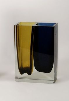 """Does not 'beautiful' ultimately mean necessary, functional, justified, right?"" - KAJ FRANCK - (Unique Glass Art by Finnish Designer Kaj Franck)"