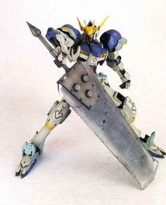 GUNDAM GUY: HG 1/144 Gundam Barbatos Heavy Blade - Customized Build