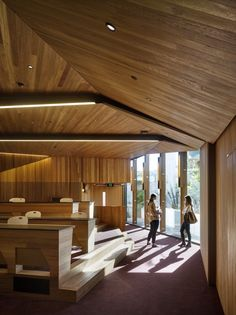 University of Queensland Oral Health Centre by Cox Rayner | Australian Design Review | Photo by Christopher Frederick Jones   #Interior #Wood #Education #Timber #Design #Architecture