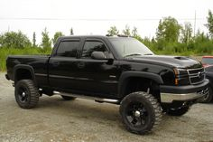 blacked out 2005 duramax - - Yahoo Image Search Results 2005 Chevy Silverado, Chevy Duramax, Chevy Pickup Trucks, Gm Trucks, Chevy Pickups, Silverado 1500, Lifted Trucks, Cool Trucks, Future Trucks
