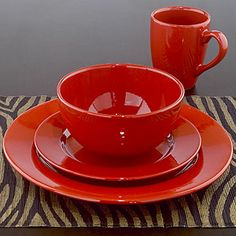 This with the patterned dishes would look great! :)