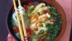 Le bouillon de poulet rôti à la thaï de Valery Drouet