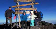 #Charity #Kilimanjaro #climb with Private Expeditions  as David and Tony, Hannah and Michelle reach the top!