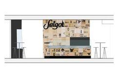 Trestrastos   Botiga Salgot i Betara al Corte Inglés de Plaça Catalunya, Barcelona. Barcelona, Floor Plans, Diagram, Licence Plates, Sketches, Floor Plan Drawing, House Floor Plans