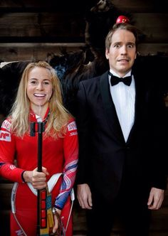 Tiril Eckhoff is dangerous! Funny pic with Emil Cross Country Skiing, Norway, Funny Pictures, Female, Fitness, Sports, Wallpapers, Women, Girls