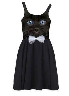 #cat #dress