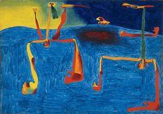 "Miró, ""Les deux philosophes"", 1936. J'adooOoore !/ Yoyo Maeght"