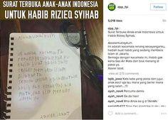 Hadiah Kacamata Renang untuk Habib Rizieq Jadi Viral Bikin Terharu