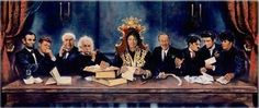 'Heroes - The Last Supper' by Nate Giorgio Abraham Lincoln-John F. Kennedy-Thomas Edison-Albert Einstein-Michael Jackson-Walt Disney-Charlie Chaplin-Elvis Presley-Little Richard Art Michael Jackson, Jackson 5, Michael Art, Jimmy Carter, Livingstone, James Brown, Ronald Reagan, Jackie Kennedy, Luther
