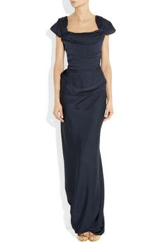 Vivienne Westwood Gold Label- Draped silk-jersey gown - £2110