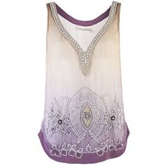 OF TWO MINDS TALITHA BEADED TANK