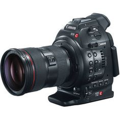 Canon EOS A 'budget' addition to its Cinema EOS range of professional video cameras. Designed for independent videographers, the offers the same core technology as the including its Super image sensor, in a smaller package. Cinema Camera, Movie Camera, Canon Eos, Canon Kamera, Super 8, Digital Cinema, Mark Ii, Technology Gadgets, Camera Photography