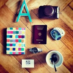 What adventures will you record in your #Pantone journal? Photo via Berlin based art director @alexsign