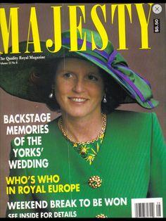 Majesty magazine n. 8 1991 - Sarah Ferguson