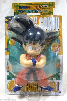 Dragon Ball Z Goku Gokou DX Sofubi Figure 3 Banpresto JAPAN ANIME MANGA