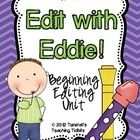 This is a packet designed to help you teach conventions and editing to young writers.  Included are posters of each editing rule and posters of h...