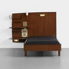 Gio Ponti bed from The Royal Hotel, Naples   Giordano Chiesa   Italy, 1948