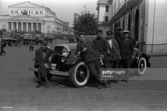 Parking of cars at hotel 'Metropol', Moscow, 1933. (Photo by Aleksandr Grinberg/FotoSoyuz/Getty Images)