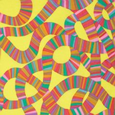 Rowan – Kaffe Collective 2015 by Brandon Mably – Roller Coaster in yellow