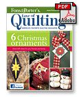 Free Quilt Pattern Downloads from Fons & Porter - Quilting Downloads, Applique, Free Quilting Patterns