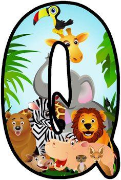 Jungle Theme Classroom, Jungle Theme Birthday, Jungle Party, Safari Party, Safari Theme, Jungle Safari, Safari Animals, Classroom Themes, Alfabeto Animal