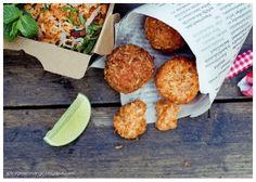 Thai crunchy fried rice balls recipe