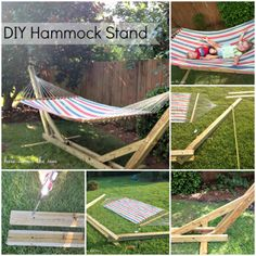 The Homestead Survival | Build a Hammock Stand and Sew a Hammock | http://thehomesteadsurvival.com