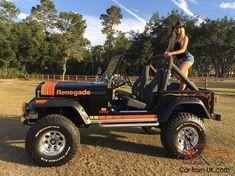 Jeep Wrangler Pickup Truck, Cj Jeep, Jeep Cj7, Jeep Truck, Wrangler Rubicon, Trucks And Girls, Car Girls, 2 Door Jeep, Jeep Scout