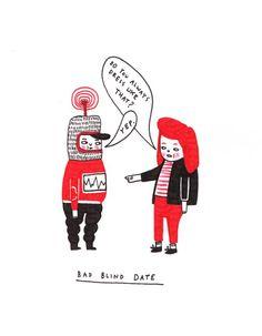 blind date.