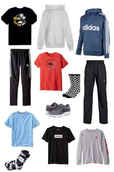 Teen Boy Casual Fall Fashion Fall Fashion ideas for boys. Ideas on what to clothes to buy for tween and teen boys. Back to school shopping for boys. Tween Boy Outfits, Casual Sporty Outfits, Teenage Boy Fashion, Summer Outfits For Teens, Tween Boy Clothes, Fashion For Boys, Casual Clothes, Autumn Fashion Casual, Casual Fall