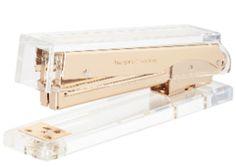 Kate Spade Gold Acrylic Stapler - Hattan Home - 1