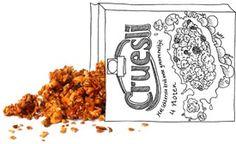 Niks geen mierzoete cruesli uit een pak. Granola bak je net zo makkelijk zelf in de oven.