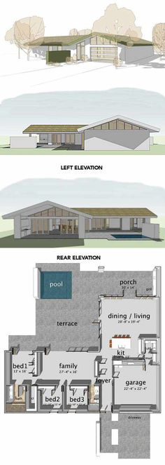 We recently wrote about 8 authentic Eichler house plans now for sale… We followed with William Turnbull house plans for Sea Ranch … Today on our list:8 ranch house plans inspired by Cliff May— available, like the others,from houseplans.com. Wow, those historic-minded folk at houseplans.com are working overtime, it seems. While these are not original …