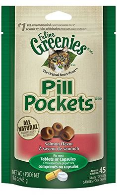 GREENIES FELINE PILL POCKET Easily Administer Cat Medicat... https://www.amazon.es/dp/B000JOE224/ref=cm_sw_r_pi_dp_x_1-v7xbB57BKQQ